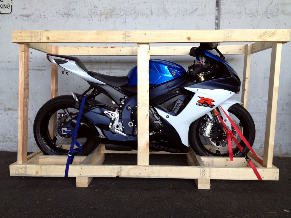 Which Companies Ship Motorcycles?